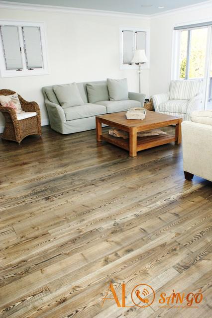 đặc điểm của sàn gỗ tự nhiên