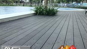 Sàn gỗ Awood DarkGrey
