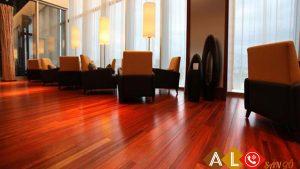 sàn gỗ đỏ lào