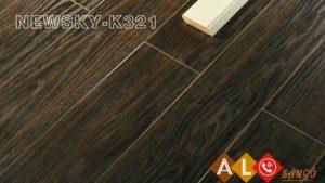 Sàn gỗ NewSky K321 - Sàn gỗ công nghiệp công nghệ Đức