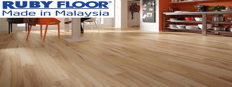 Ván sàn gỗ công nghiệp ruby