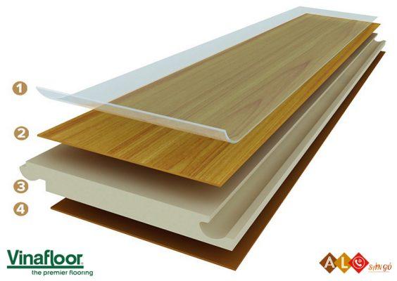 cấu tạo sàn gỗ Vinafloor