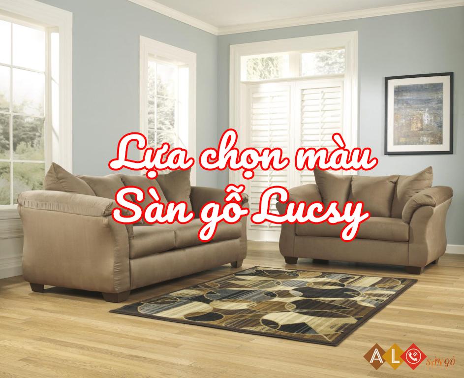 Lựa chọn màu sàn gỗ Lucsy
