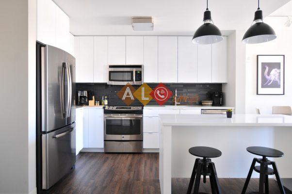 Lựa chọn màu sàn gỗ Lucsy cho nhà bếp