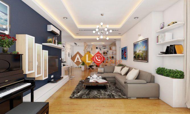 sàn gỗ chypong cho chung cư
