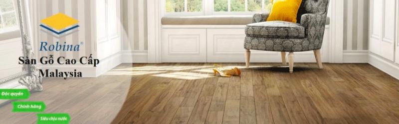 Tốp 3 – Sàn gỗ Robina
