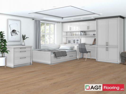 sàn gỗ AGT Flooring Effect 907 cho phòng trẻ nhỏ